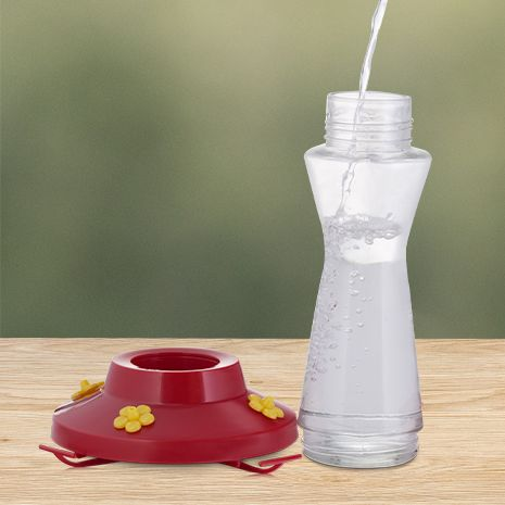 clear wide mouth bottle