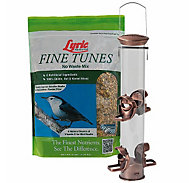 Lyric® Fine Tunes Wild Bird Seed & Perky-Pet® Heavy-Duty Bird Feeder with Copper Finish Bundle