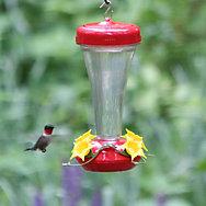 Perky-Pet® Aster Top Fill Plastic Hummingbird Feeder