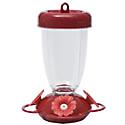 Perky-Pet® Red Flower Top Fill Plastic Hummingbird Feeder