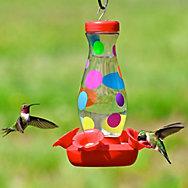 Perky-Pet® Colorful Dots Glass Hummingbird Feeder