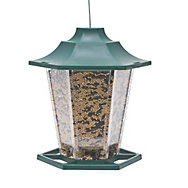 Perky-Pet® Green Carriage Bird Feeder