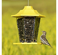 Perky-Pet® Yellow Carriage Bird Feeder