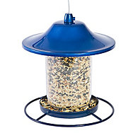 Perky-Pet® Blue Sparkle Panorama Feeder