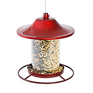 Perky-Pet® Red Sparkle Panorama Feeder