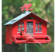 Perky-Pet® Squirrel-Be-Gone® II Country Style Wild Bird Feeder
