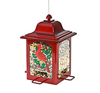 Perky-Pet® Holiday Cardinal Lantern Bird Feeder
