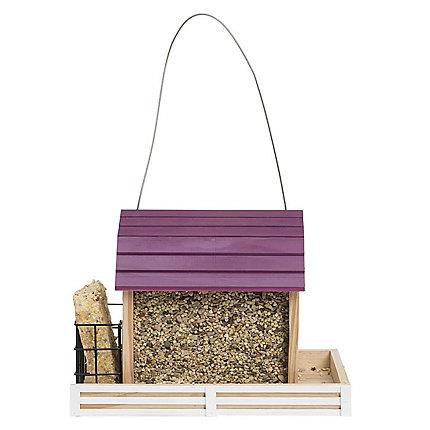 Perky-Pet® Star Barn Wood Chalet Bird Feeder