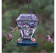 Birdscapes® Hummingbird Edition Glass Hummingbird Feeder