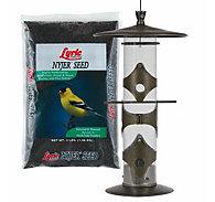 Lyric® Nyjer® Seed & Upside Down® Goldfinch Feeder Bundle