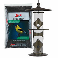Lyric® Nyjer® Seed & Upside Down® Goldfinch Feeder Bundle