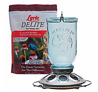 Lyric® Delite Wild Bird Seed & Perky-Pet® Mason Jar Bird Feeder Bundle