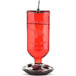 Perky-Pet® Pinch Waist Red Plastic Hummingbird Feeder