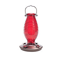 Perky-Pet® Red Hobnail Vintage Hummingbird Feeder