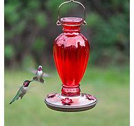 Perky-Pet® Daisy Vase Vintage Hummingbird Feeder