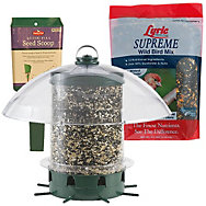 K-Feeders® Super Carousel Wild Bird Feeder Set