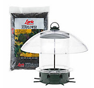 Lyric® Black Oil Sunflower Seed and K-Feeders® Bundle