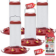 Perky-Pet® Buy 3 Get 1 FREE - The Grand Master Hummingbird Feeder