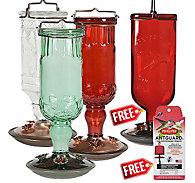 Perky-Pet® Buy 3 Get 1 FREE - Antique Hummingbird Feeder Assortment