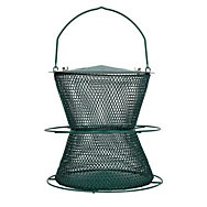 NO/NO® Hourglass® Forest Green Wild Bird Feeder