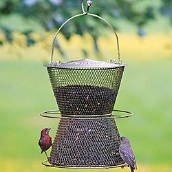 NO/NO® Hourglass® Brass Wild Bird Feeder