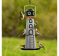 NO/NO® Solar Lighthouse Finch Feeder