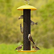 NO/NO® Straight-Sided Finch Tube Wild Bird Feeder