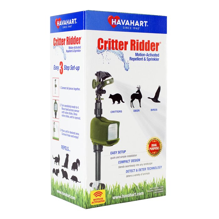 HAVAHART Motion-Activated Animal Repellent & Sprinkler