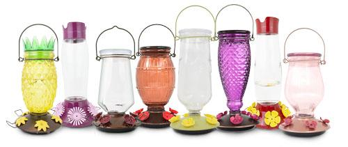 The Full Collection of Perky-Pet Top-Fill Hummingbird Feeders