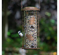 Perky-Pet® Brass Squirrel Stumper® Bird Feeder – 3 lb Capacity