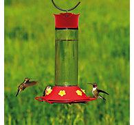 Perky-Pet® Glass Hummingbird Feeder - 30 oz Nectar Capacity