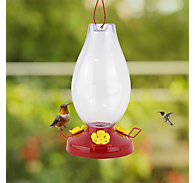 Perky-Pet® Rounded Vase Plastic Hummingbird Feeder
