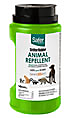 Squirrel repellent for protecting birdfeeders