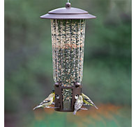 Perky-Pet® Squirrel-Be-Gone® Max Bird Feeder with Flexports® - 4 lb