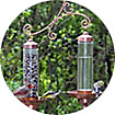 Sip and Seed Bird Feeders