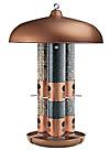 triple tube bird feeders