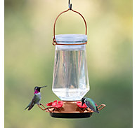 Perky-Pet® Crystal Top-Fill Glass Hummingbird Feeder - 28 oz