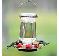 Perky-Pet® Crystal Top-Fill Glass Hummingbird Feeder - 28 oz