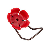 Perky-Pet® Replacement Red Hollyhock Flower Feeding Ports and Perches
