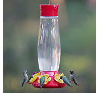 Perky-Pet® Top-Fill Grand Master Glass Hummingbird Feeder