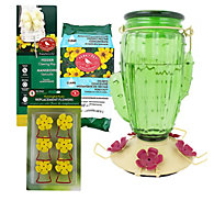 Perky-Pet® Cactus Top-Fill Glass Hummingbird Feeder Kit
