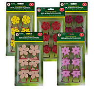 Perky-Pet® Replacement Flower Feeding Port and Perch Variety Kit