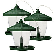 Perky-Pet® Grand Chalet Wild Bird Feeder 3-Pack - 4 lb Seed Capacity