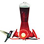 Hummingbird feeder with bee guard