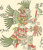Photo of Aztec god