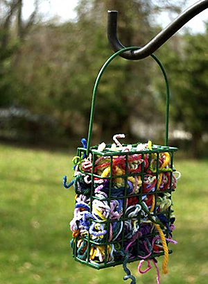 birdscaping add nesting materials to your yard