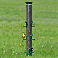 "Perky-Pet® Premium 23"" Heavy-Duty Bird Feeder with Hunter Green Finish"