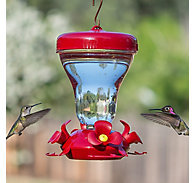 Perky-Pet® Magnolia Top Fill Plastic Hummingbird Feeder