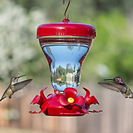 Perky-Pet® Magnolia Top Fill Plastic Hummingbird Feeder