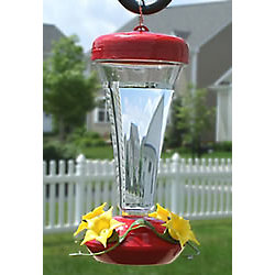 Perky-Pet® Aster Top Fill Plastic Hummingbird Feeder